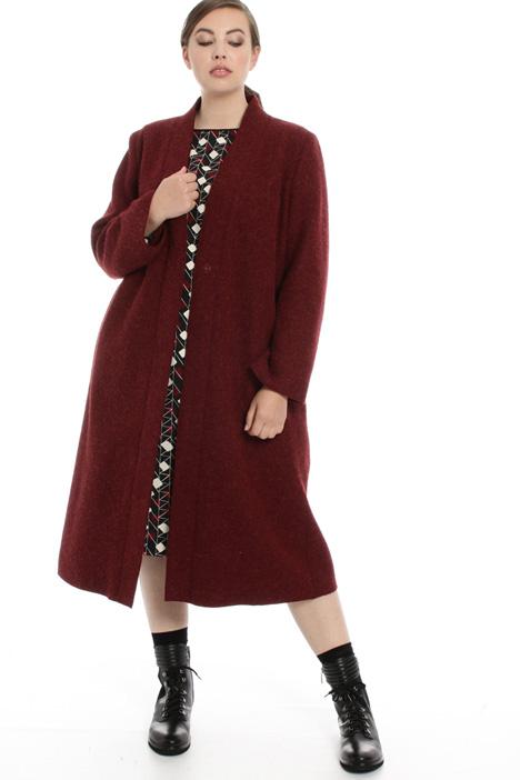 Cappotto in lana e alpaca Fashion Market