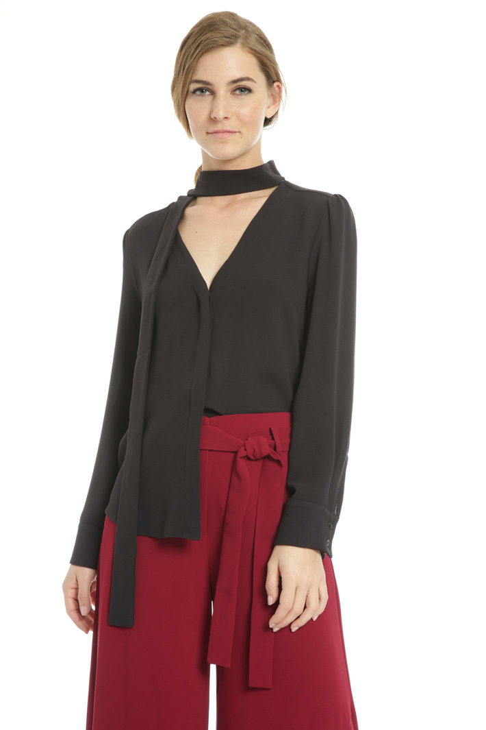Blusa in georgette Fashion Market