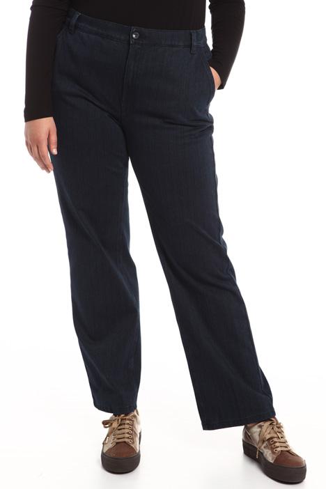 Pantalone dritto in denim Fashion Market