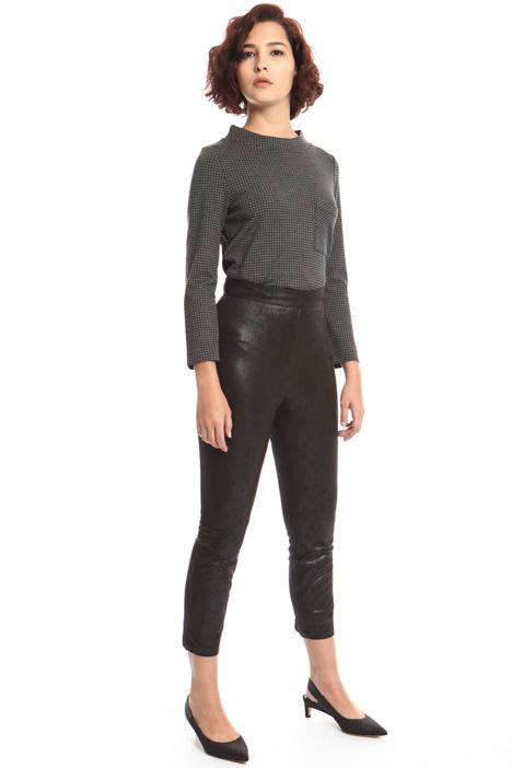 Pantalone skinny spalmato Fashion Market