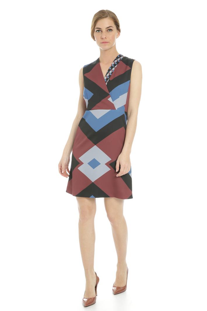 Abito a fantasia geometrica Fashion Market