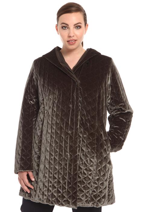 Cappotto in velluto trapuntato Fashion Market