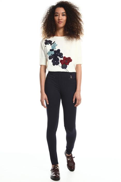Pantalone in jersey compatto Fashion Market