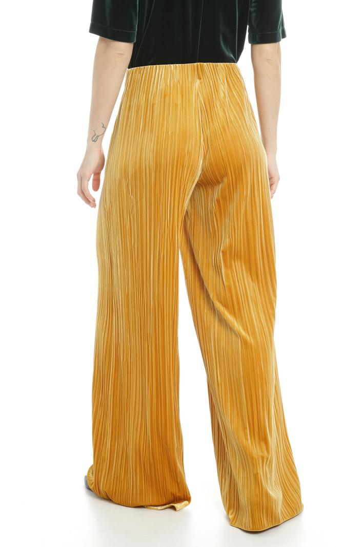 Pantaloni effetto ciniglia Fashion Market