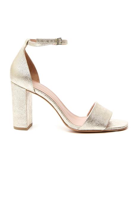 Sandalo metallizzato Fashion Market