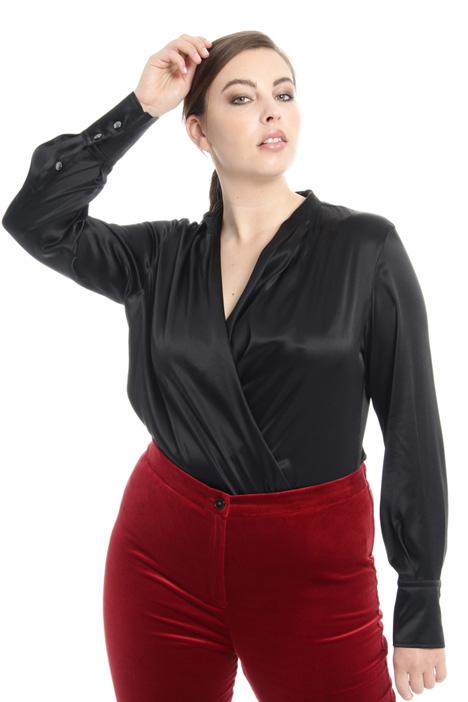 Camicia body in raso Fashion Market