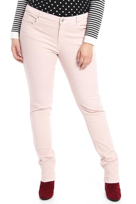 Pantaloni fit in cotone Fashion Market