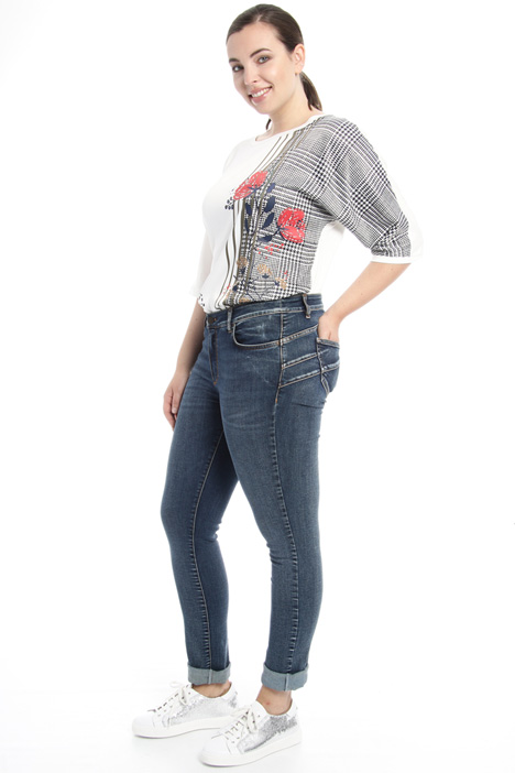 Jeans skinny a vita bassa Fashion Market