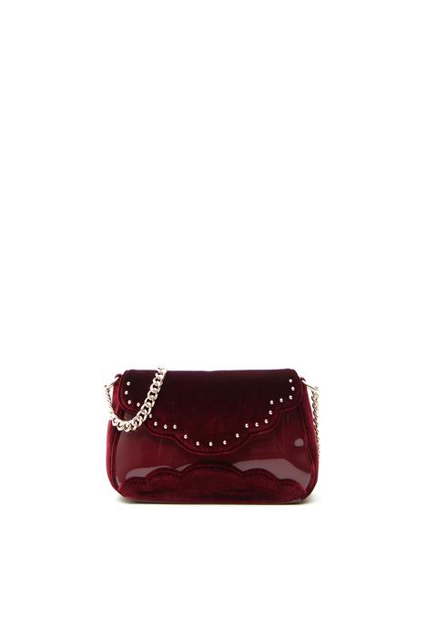 Mini borsa effetto velluto Fashion Market