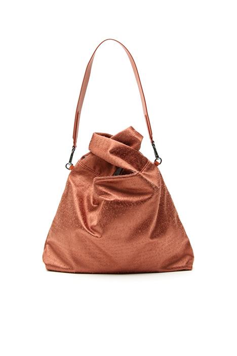Borsa a sacchetto in tessuto Fashion Market