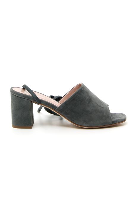 Sandalo in pelle scamosciata Fashion Market