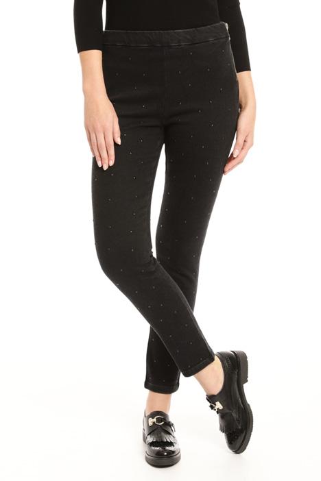 Jeans con borchie all over Fashion Market