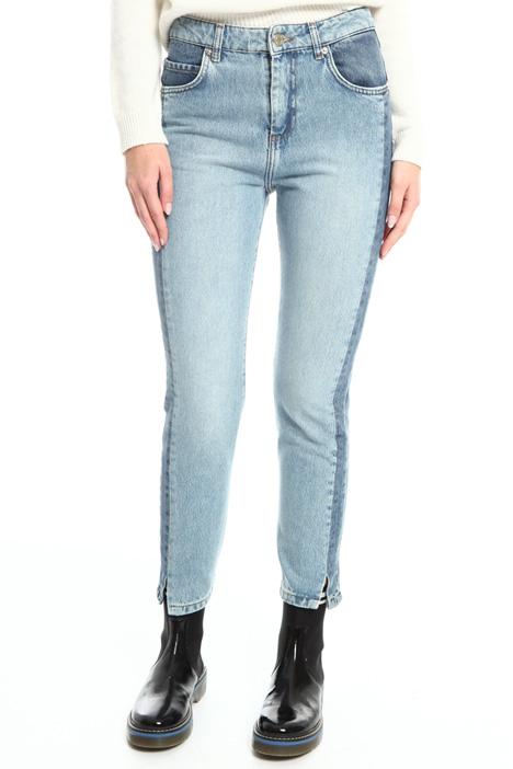 Jeans in denim di cotone Fashion Market