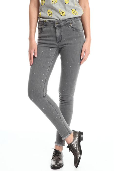 Jeans skinny con borchie Fashion Market