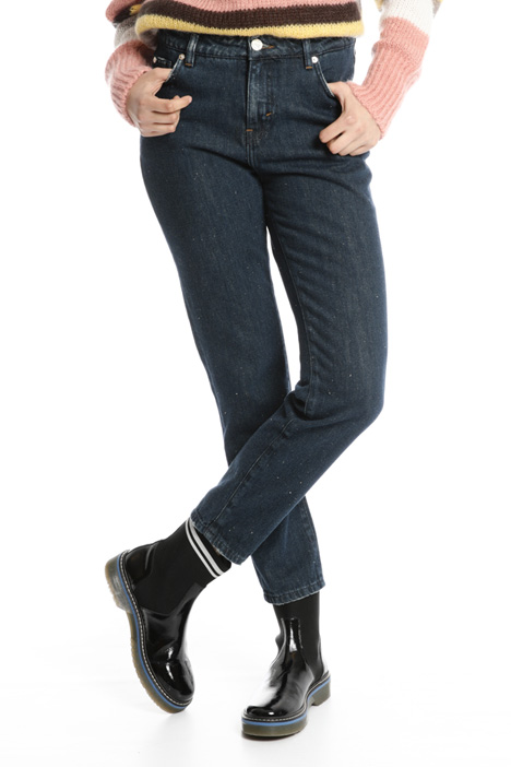 Jeans a sigaretta in denim Fashion Market