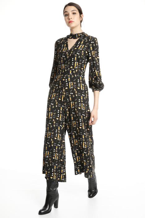 Tuta in viscosa crepe Fashion Market