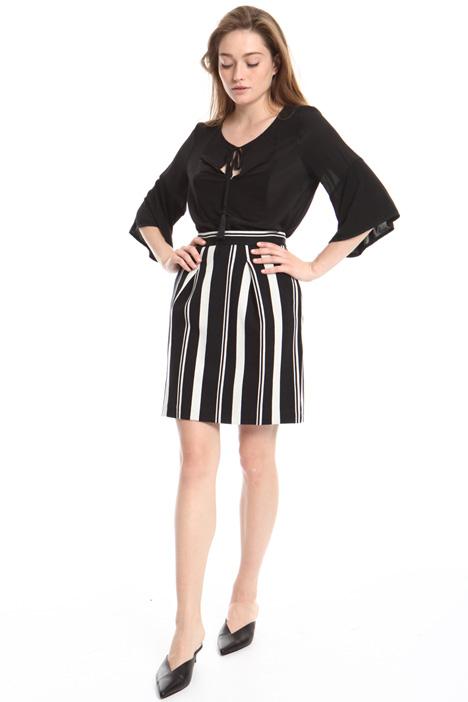 Minigonna in jersey jacquard Fashion Market