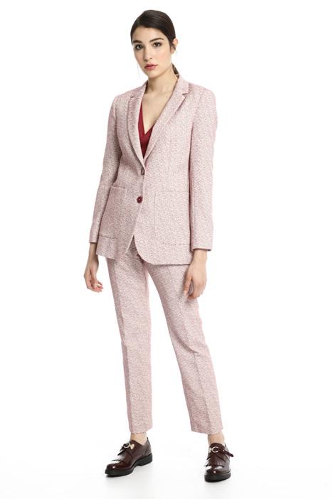 Blazer jacquard in cotone Fashion Market