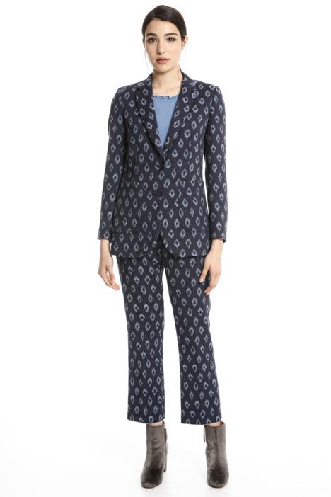 Blazer in cotone jacquard Fashion Market