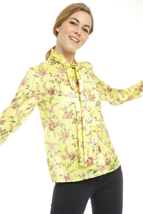 Camicia in chiffon con top Fashion Market