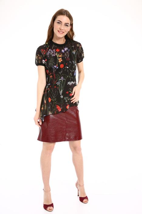 Blusa in georgette con top Fashion Market