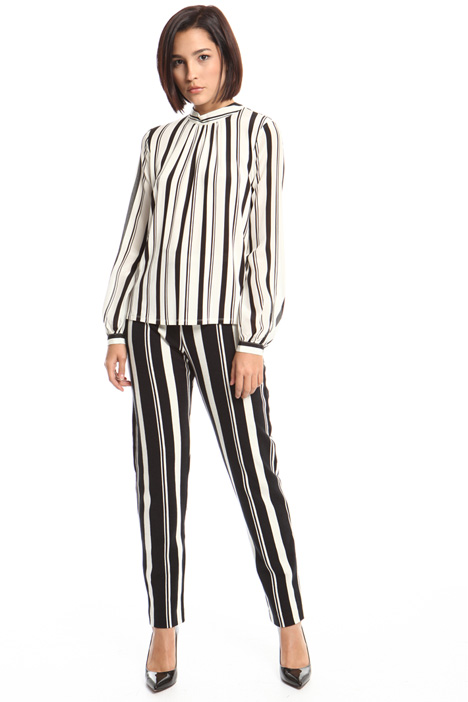 Blusa in jersey e seta Fashion Market