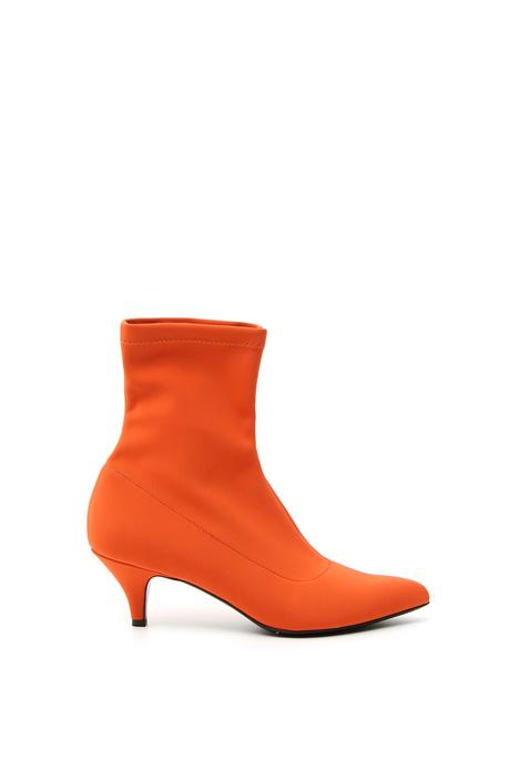Stivaletto a calza con tacco Fashion Market